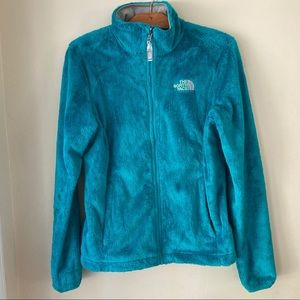 Women's small The Northface OSITO jacket teal blue